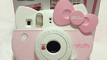 会拍照的小猫:日本官网入手 FUJIFILM 富士 Checky instax 趣奇 mini Hello Kitty 拍立得相机