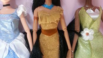 给你不一样的:历时1个多月的迪士尼 Princess Doll Collection 公主系列芭比娃娃套装