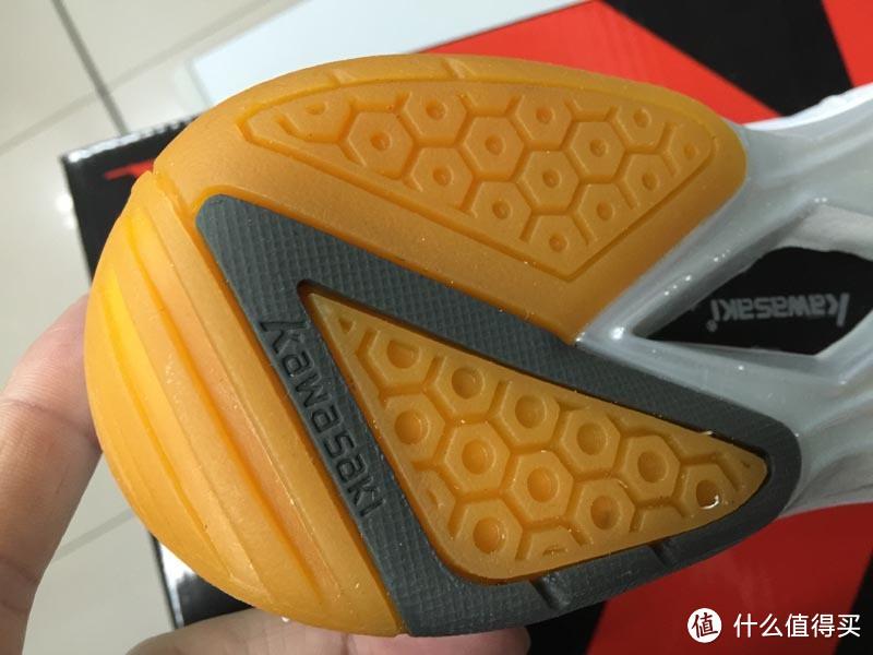 只要一百块:KAWASAKI 川崎 凌风系列 中性羽毛球鞋