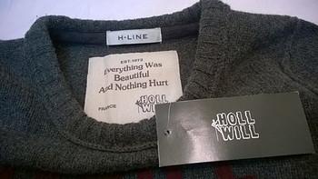 实体店入手Holl Will 针织羊毛衫