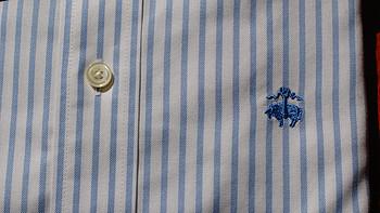 再次试水美淘衬衫:Brooks Brothers 布克兄弟 Non-Iron Extra-Slim Fit Stripe 男士修身条纹休闲衬衫