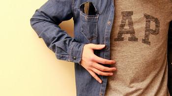 【真人秀】开春骚起来:ZARA 基本款丹宁衬衫