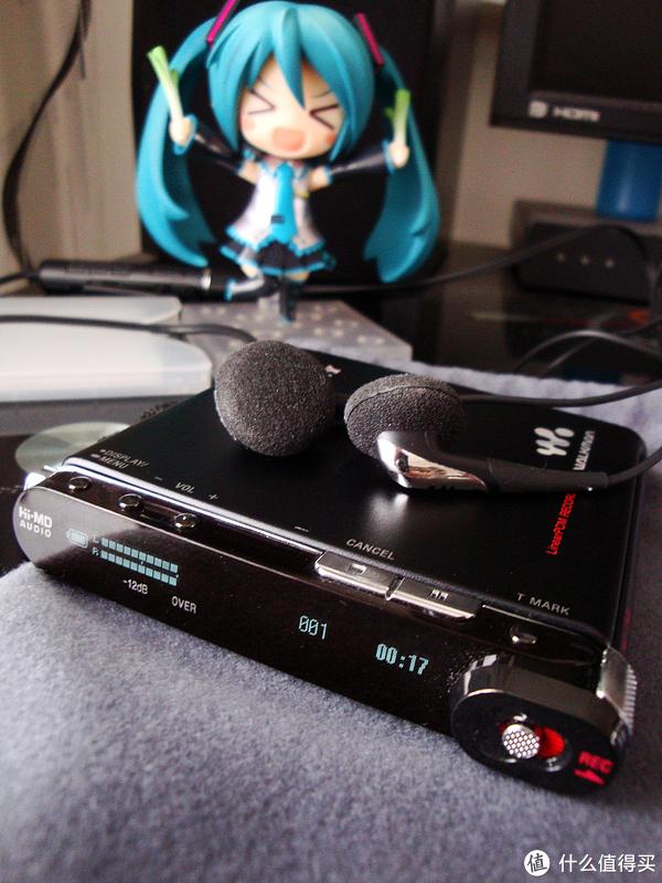 【怀旧物】MD之绝唱:SONY 索尼 MZ RH-1