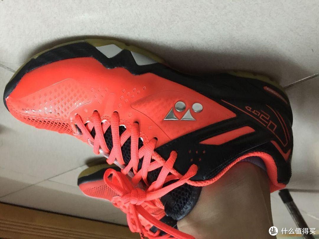 亮骚全场!林丹再次签约YONEX 尤尼克斯 后入的同款战靴 SHB-02LTD
