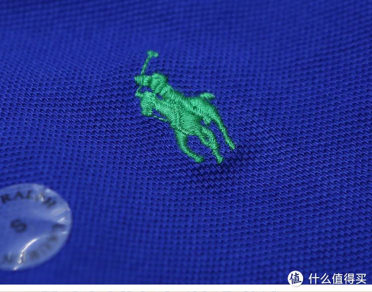 绣的小马标,还是很漂亮。