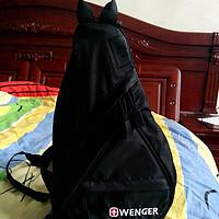 心水几年的小包: WENGER 威戈水滴包