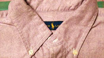 尺码选择需谨慎:Polo Ralph Lauren官网海淘 男款衬衫