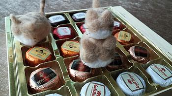 迟到的情人节晒单:比利时进口迪克多木盒酒芯巧克力+克特多金象巧克力