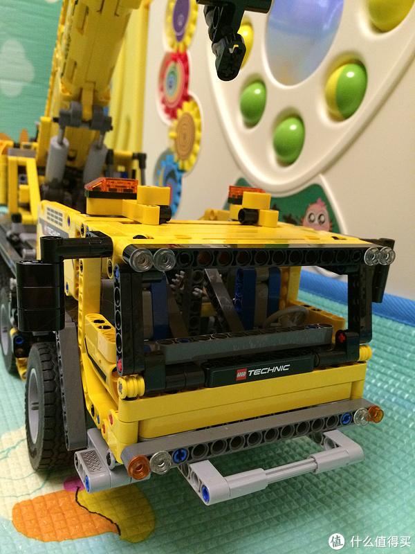 乐高坑第一跳:LEGO 乐高 科技系列 机械组 Technic 42009 移动起重机