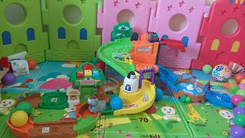 VTech 伟易达 Go! Go! 动物园轨道玩具套装入手体验