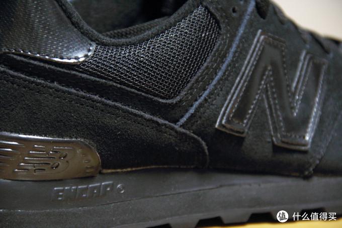 """一""""黑""""到底:New Balance 新百伦 574  男士休闲运动鞋"""
