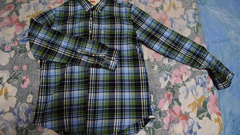 Levi's 李维斯男士纯棉格子长袖衬衫65824-0129