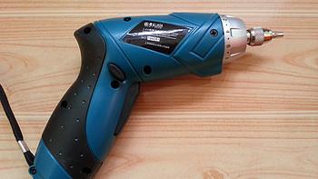居家男人的好帮手:LAOA 老A LA413036 3.6V锂电充电钻套装组合简单晒单