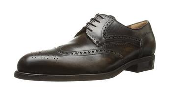 迟到的生日礼物之一:a.testoni 铁狮东尼雕花版男士皮鞋