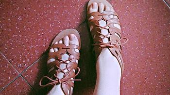 第一次穿就遭遇暴雨的Nine West 玖熙 Fenwick 女款凉鞋