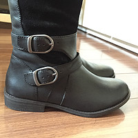 美亚直邮 物美价廉:Lucky Brand Zosha Harness 女士真皮长靴