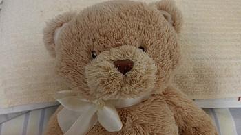 小萝莉的新玩具:Gund My First 泰迪熊