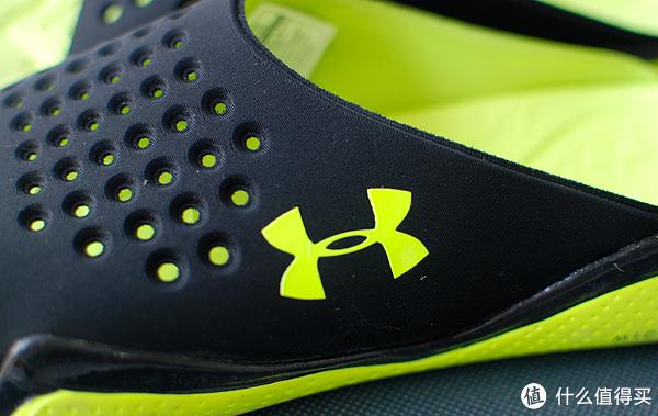 b540a4fda340 骚包的绿色Under Armour Compression EV Sandals 拖鞋  什么值得买