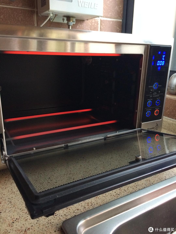 奶爸入门烘培的选择:loyola 忠臣烤箱 家用烤箱30升 智能控温LO-X5