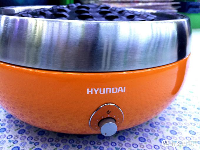 撸串小王子的春天:HYUNDAI韩国现代 QC-TK2 炭烤炉