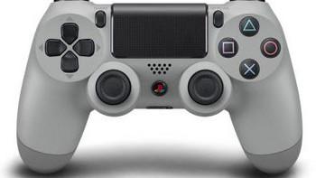 初代PS配色:Sony 索尼 推出20周年纪念版 DualShock 4 手柄 和 无线耳机