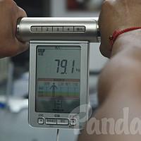 健身大业的忠诚伴侣!Omron 欧姆龙身体脂肪测量仪 HBF-701