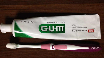 G·U·M 牙膏牙刷使用过程(刷毛|力道)