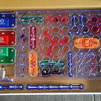 入坑无法驾驭的玩具:海淘 ELENCO Snap Circuits Jr. SC-100 电路积木玩具
