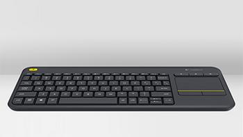 体型轻薄主打客厅娱乐:Logitech 罗技 K400 Plus 无线触控键盘 国行售价199元