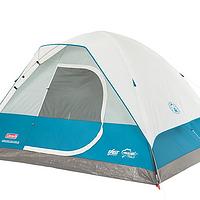 分享家庭露营装备 篇二:一家人的随身房屋 Coleman 科勒曼 4人帐篷