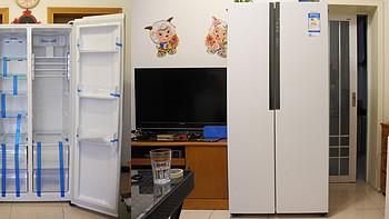 Haier 海尔 BCD-452WDPF 风冷对开门冰箱晒单