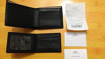 教练牌皮夹:COACH蔻驰 F74768男士短款钱包