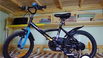 宝宝骑行第一辆:DECATHLON 迪卡侬 16寸 BTWIN 全装备单车