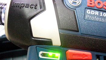 家居必备 篇六十七:BOSCH 博世 GDR10.8-LI 锂电冲击起子机