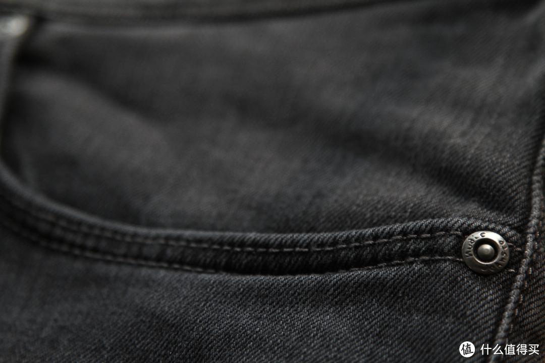 Nudie Jeans Grim Tim  Steamy Grey 牛仔裤
