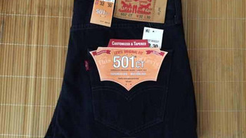 美亚入手 Levi's 李维斯 501 Customized and Tapered 男士牛仔裤