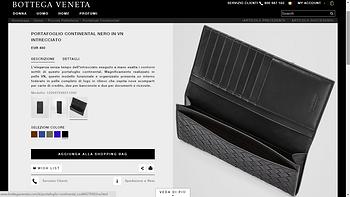 First Gift-Bottega Veneta 经典长款钱夹外观展示(卡位 主钞位 票位)