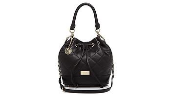 Bloomingdale's直邮 — DKNY 女士绗缝软羊革水桶包