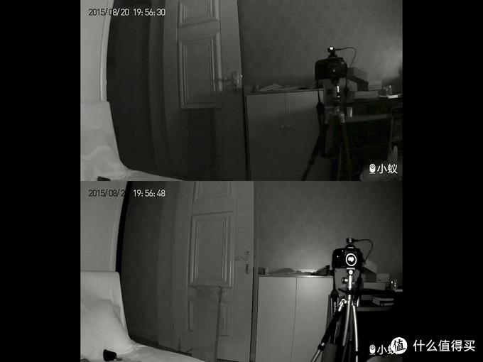 小蚁智能摄像机 标准版与夜视版对比评测(带视频)