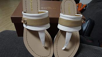 又一次忧伤的海淘历练:COACH 蔻驰 Eileen 女款夹脚凉鞋 购买记