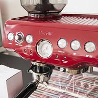 颜控乱入:美亚入手 Breville 铂富 Barista Express 半自动咖啡机(带磨豆器)