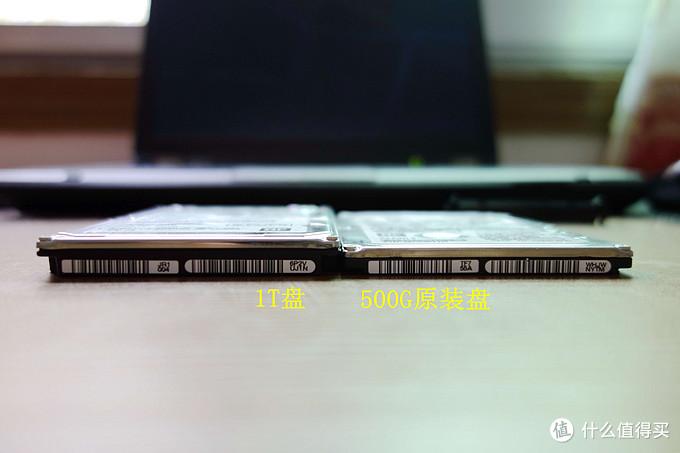 HITACH 日立 2.5寸机械硬盘晒单及光驱位硬盘升级
