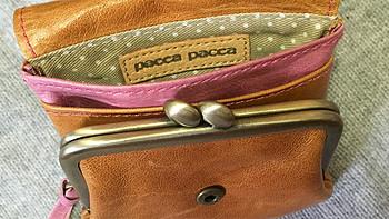 手心上的小豆腐块:pacca pacca 马革零钱包