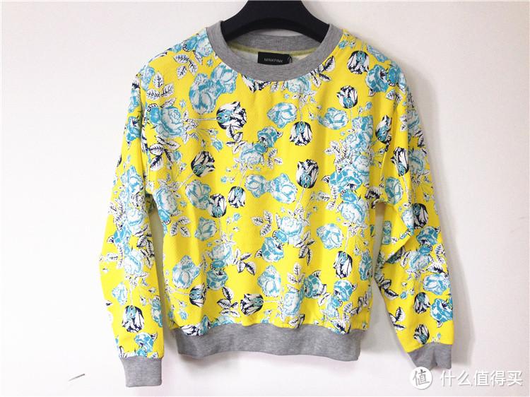 美亚直邮 澳大利亚品牌 MINKPINK 女士时尚印花卫衣