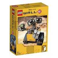 LEGO 乐高 21303 IDEAS系列 机器人瓦力 开箱晒物
