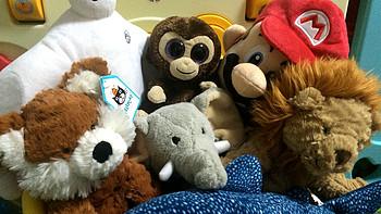 奶爸晒装备 篇三:晒JELLYCAT小狮子 小狐狸 及其它毛绒玩具