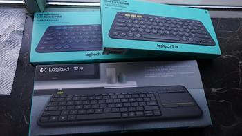 Logitech 罗技 K380 蓝牙键盘 & K400 Plus 无线触控键盘
