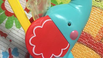 给小领导败的玩具:MING TA 铭塔 木马摇椅 & Fisher Price 费雪 小象爆米花手推车