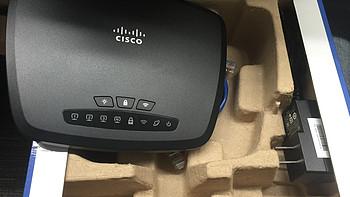 CISCO 思科 CVR100W 300M 无线路由器 1元抢购