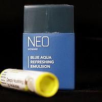 那抹蓝色小清新--来自京东的免费THE FACE SHOP男士水蓝清润乳开箱
